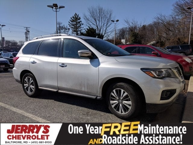 2017 Nissan Pathfinder Sv In Baltimore Md Jerry S Mitsubishi