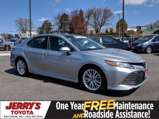 2018 Toyota Camry Xle In Baltimore Md Jerry S Mitsubishi