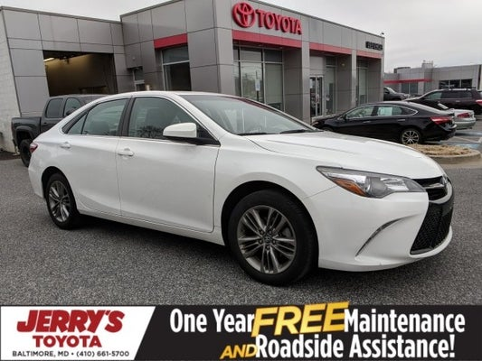 2017 Toyota Camry Se In Baltimore Md Jerry S Mitsubishi