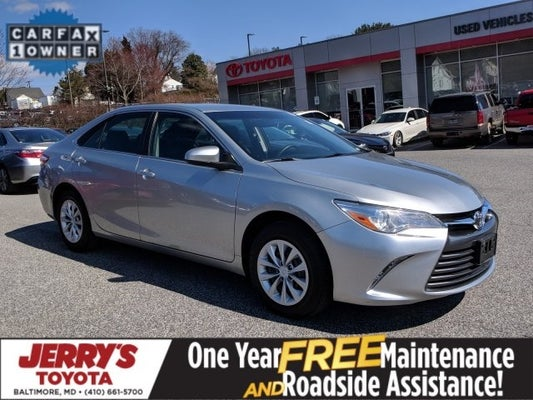 2017 Toyota Camry Le In Baltimore Md Jerry S Mitsubishi